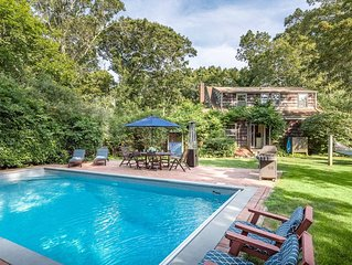 Charming East Hampton cottage w/pool, near Georgica beach