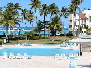 Luxury Beach Front Condo with Ocean View, All the Necessary Accessories and More
