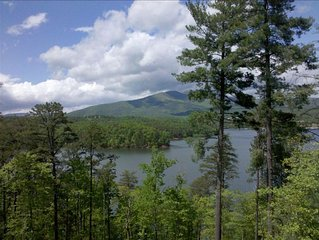 Awe Inspiring Views! Custom Lake Front Home on Beautiful Lake James!