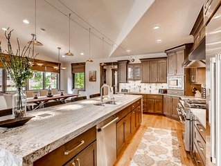 New Peak 8 Luxury Home with Impressive Amenities Including Sauna and Hot Tub!