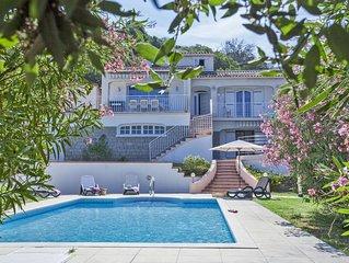 Isolella maison avec vue mer; piscine ;14 pers, plage de Stagnola a 200m
