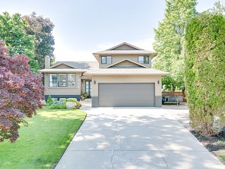 Beautiful lakeview home in Upper Mission, Kelowna, BC.