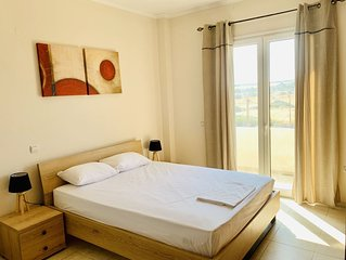 Athena luxury apartment on the beach of Lachania
