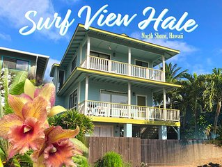 SURF VIEW HALE - across the street from the beach!
