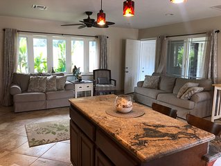 North Shore Haleiwa home in family neighborhood, newly remodeled, close to beach