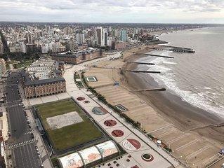Atlantic Ocean full view  in 39 floor.First line beach