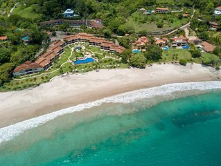 White Sand Beach front Blue Zone Experience in Costa Rica