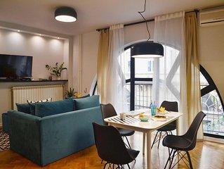 Downtown Belgrade Gem ♛ NEW 2019 Refurbished Central Home ♛