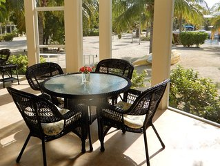 Beachfront Luxury Living Directly On Palm-Lined Cove - kayaks and bikes included