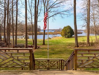 The Place You've Been Looking For!  Renovated House with Huge Waterfront Lot!