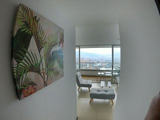 Awesome views from 15th floor in poblado