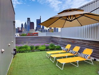 Family Friendly Gem with Private Roof Deck near Art Museum & Center City