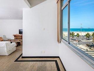Espacoso e confortavel 4 quartos em Copacabana para 8 pessoas!