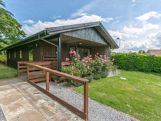 Four star wheelchair accessible Lodge with three bedrooms and two bathrooms, fab