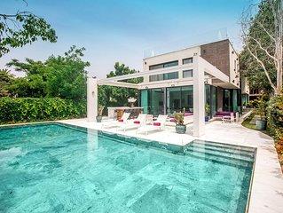 Designer Heated Pool House