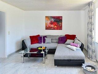 Ferienwohnung Giebelbach, 60 qm, 1 Schlafzimmer, 1 Wohn-/Schlafzimmer, max. 4 Pe