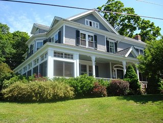 'Village View'- Elegant, Comfortable, Historic Home in Downtown Lenox