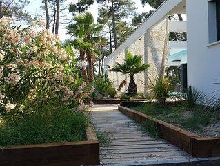 VILLA CALIFORNIA Villa d'architecte classee 5* Arcachon