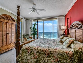 PARROTDISE FOUND! Boardwalk Beach Resort 902 ***** Upscale 1 King & 2 Queen Beds