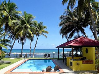 Boutique Beachfront w/Private Pool!  Top rated Puerto Rico rental!
