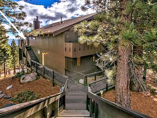 #1 Choice Location: 3 min to Heavenly Lifts 7 min to Lake/Casino's, private Deck