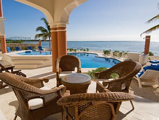 ~Mexican Style Villa On Beach in Gated Community ~ with Free Chef Service