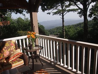 Blowing Rock Mountain House with Long Range Views!