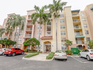 Aventura's Finest 2 BDR/2BTH Vacation Rental with Free WIFI & CABLE
