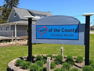 Perfectly located in Leelanau County. Many attractions within walking distance.