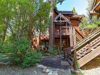 Incline Village: Third Creek Townhouse. Amazing Creek-side setting.
