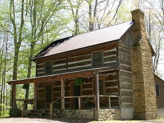 The Cheat is a historic cabin with modern ammenties