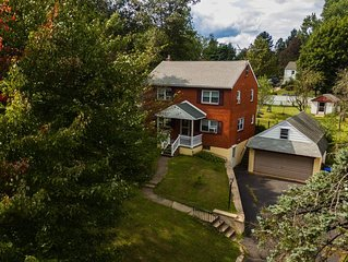 Red brick house for family of 6 in quite neighborhood