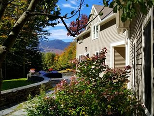 Amazing Views and Minutes from Stowe Mtn Resort. Beautiful Home that Sleeps 10