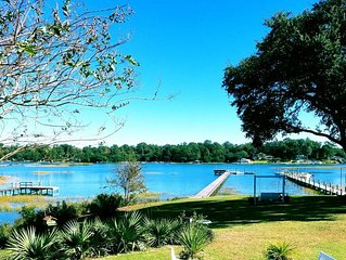 Family Friendly Waterfront-Private Dock Incl-Fish-Swim-Boat-ICW-Dogs Welcome!!!