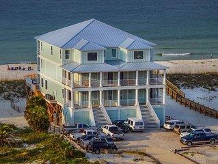 'Castle in the Sand West' Orange Beach AL-9 bedroom-Sleeps up to 26-Private Pool