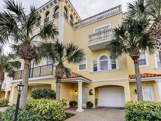 Clearwater Beach Waterfront Townhouse On The Intracoastal – With Rooftop Terrace