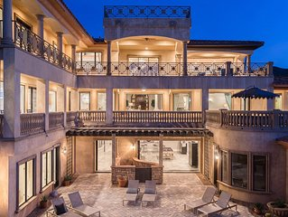 WORLD'S FINEST VACATION HOME – 2 Pool BOMBER overlooking Lake Las Vegas