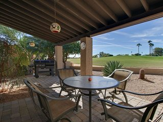 Right on the Golf Course! Dog Friendly, Enjoy Hiking, Biking, Community Heated P