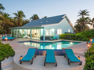 6BR Calypso Blue-Freshly Renovated Oceanfront Villa with Pool, Perfect for Fami