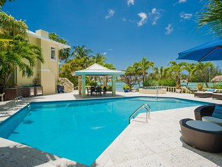 Kaiku: Gated Estate w/Guesthouse, Private Pool, Heated Spa, and Private Dock