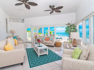 2BR-Moon Glow: Oceanfront Private Villa in Rum Point with Excellent Snorkeling