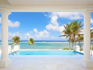 5BR-Ocean Kai: Newly Built Oceanfront Villa in Cayman Kai with Private Pool.