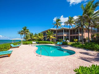 Northern Lights #5: 2-Story Beachfront Oasis in North Side w/Pool, Dock, & Snork