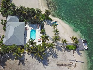 Kailypso: Beach House Oasis with Private Pool, Secluded Beach, Kayaks + Dock on
