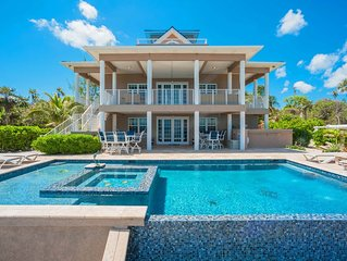 Our Cayman Cottage: Spacious Family Beach House w/ Pool, Spa, Kayaks, + Arcade R