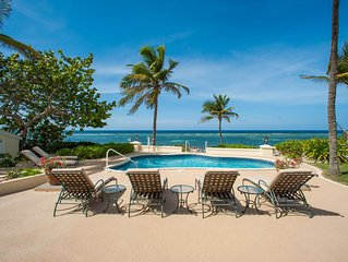 4BR/4BA 'Gypsy' Oceanfront Villa with Private Pool, Elevated Views and Great Ru