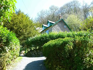 Large Period House set in Ancient Woodland in Exmoor National Park near Lynmouth