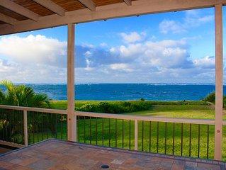 Hale Makamaka - Beachfront Retreat ~ Hot Tub/Pool/Game Rm! LAST MINUTE DISCOUNT!