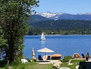 McCall Cabin by Payette Lake - Private Dock, Deck & Beach, 4 Seasons, Lake-View