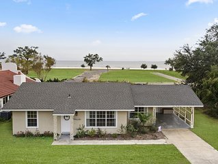 Finley House with Beautiful Gulf View